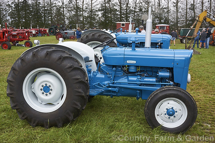 1964 Ford 3000 Tractor : Fordson super dexta photo royalty free ford